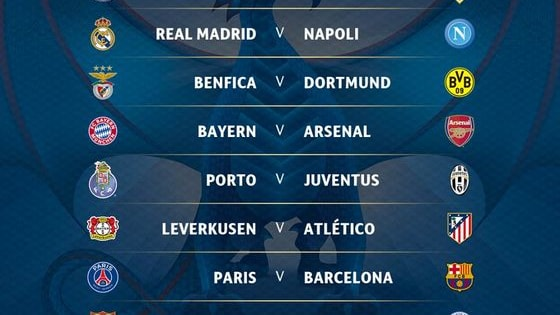 Who are you backing to reach the Quarter-finals ?
