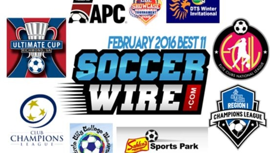 Vote for the best 11 youth soccer players from this list of top performances of January and February 2016.