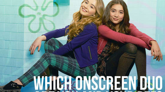 No one is exactly like you and your best friend... but which onscreen BFFs are closest? Take this quiz to find out!