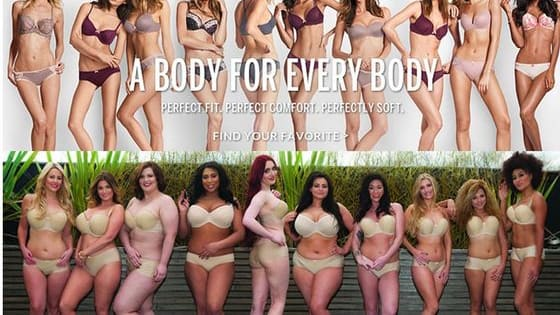 Curvy Kate put out an ad campaign as a response to Victoria's Secret's ad. Is their ad any better or more diverse?