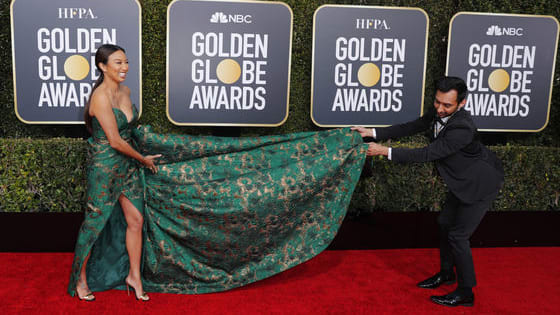 The good, the bad, and the plain weird at the Golden Globes