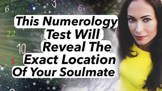 Numbers each have an energetic signature that can predict your future and tell you secrets about your personality. Your soulmate is somewhere out there, but where exactly? Just choose the numbers and see what you get!