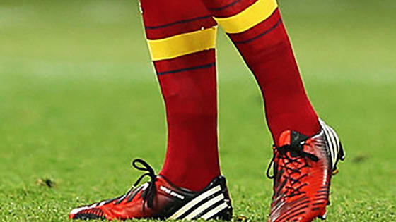 Can you guess which football player it is, based 'solely' on their boots? Some are old, some are very recent. Good luck!