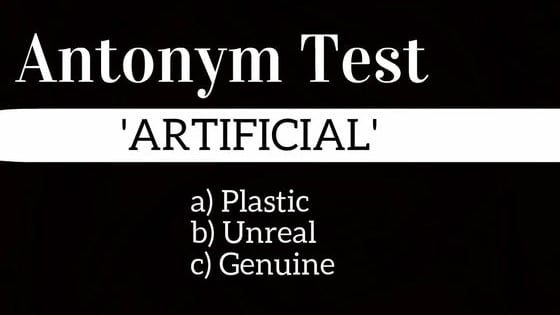 Only a master of the English language has a vocabulary rich enough to pass this antonym test.