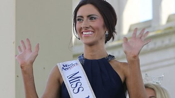 History has been made by Miss Missouri, Erin O'Flaherty!