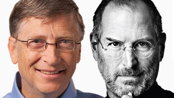 Both born in 1955, both revolutionized computer technology, but which one took LSD in India?