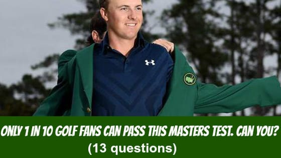 The only major to be played on the same course every year, the Masters Tournament, has a rich and fascinating history. But how much do you really know about this iconic event?