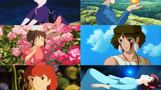 Are you sky-high fly like Kiki, or a ferocious fighter like San from Princess Mononoke?  Let's find out!