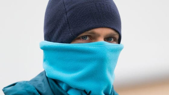 Now the winters reached St.Petersburg the Zenit players have to wrap up warm, but can you tell who's beneath the layers?