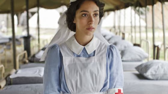 For Kitty (Oona Chaplin), her life away from the front has been a challenge for her to keep in the back of her brain.