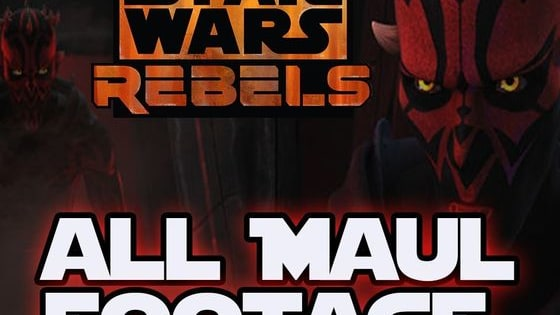 Star Wars Rebels Season 2 ALL DARTH MAUL Footage and Trailer! - Darth Maul in Star Wars Rebels Darth Maul in star wars rebels! I put together all darth maul footage in one video.  Check out Darth Maul Vs The Seventh Sister possibly confirmed: https://www.youtube.com/watch?v=sV20u... --- Links  Twitter: https://twitter.com/SWHolo_Net Twitch: http://www.twitch.tv/swholonet Reddit: https://www.reddit.com/user/SWHoloNet/ --- Music I use  Flight Hymn: https://www.youtube.com/watch?v=XCr0b... Rapture: https://www