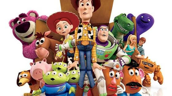 Play the game to find out which toy you are from Toy Story!