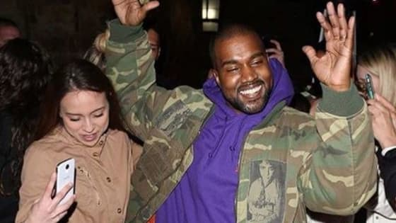 Kanye says that not smiling is his way of smiling, but luckily people are catching the adorable moments when he does.