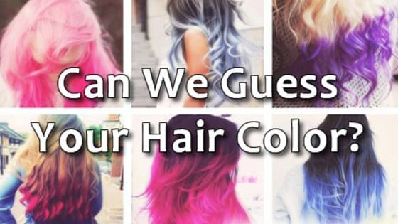 What color is your hair? Is it blond, black, or even colorful? And what does it represent/mean?