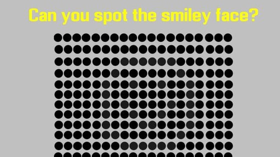 Can you decipher the hidden faces?
