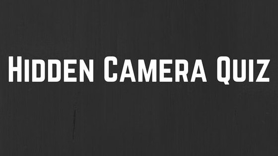 """Over 8,000 people were being watched in their homes last year. Would YOU be able to tell if you were being watched? See if you can tell which items have hidden cameras, and be sure to check out """"13 Cameras"""" in select theaters and On Demand April 15!  Watch the trailer here: http://smarturl.it/13CamTrailer"""
