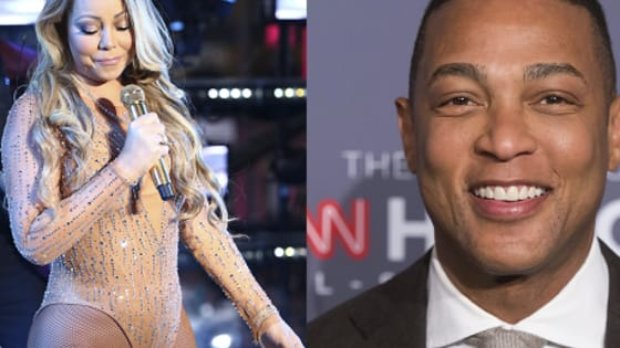 """As Don Lemon got tipsy and pierced his ears live on CNN proclaiming """"2016 was awful"""", Mariah Carey was having an epic onstage meltdown at Times Square."""