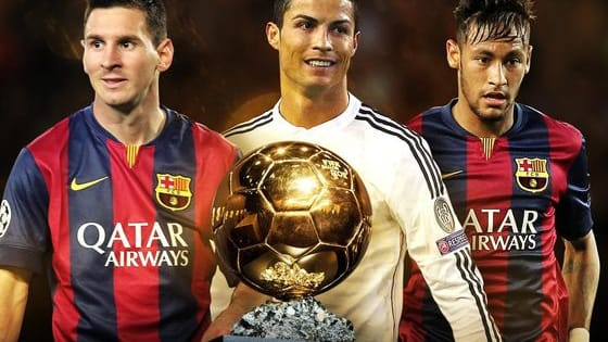 Vote for the one you think he should win the Ballon d'Or!