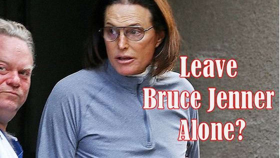 Since Bruce Jenner began his transition, he has been harassed by the press, and been splashed across the media. Have we gone too far?