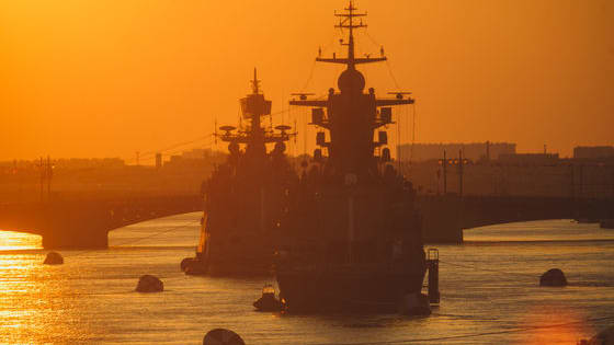 Russia is a growing naval force. The Russian navy might not be the biggest, but they're advancing their naval technology and have the rest of the world paying close attention.