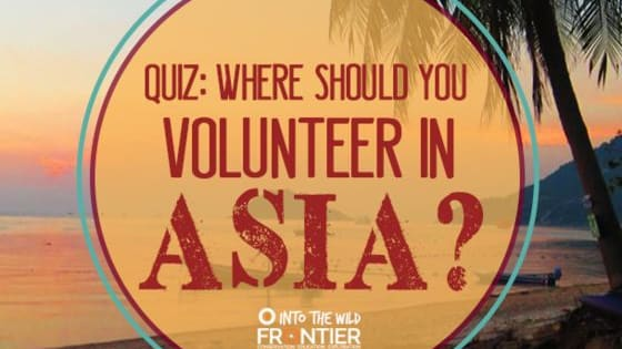 Asia is a vast, complex and massively exciting continent. It's full of amazing sites and sounds, along with great people, unique cultures and great opportunities. So why not volunteer in Asia? Take our quiz and find out where is best for you to go.