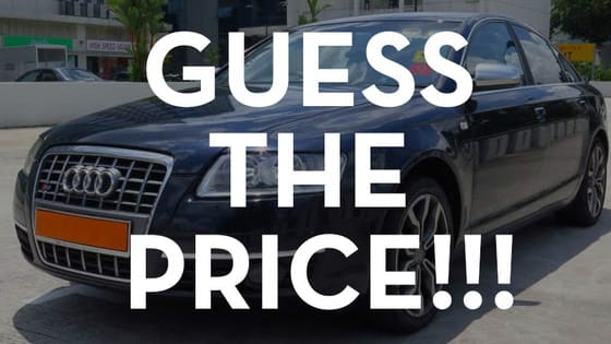 Do you think that you know the car prices in Singapore? Test your knowledge now!