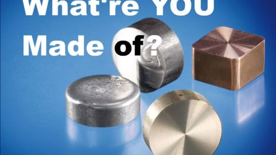 From base metals like iron, heavy ones like lead, precious and noble like gold and silver... each has it's function, and even some of the dangerous heavy metals are necessary in trace amounts. Which kind of metal would you be?