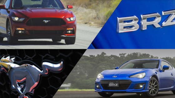 Which would YOU rather, a Subaru BRZ Premium or Ford Mustang Fastback V6?