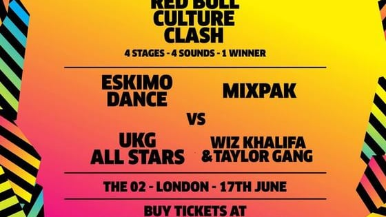 Red Bull Culture Clash is go! Vote to tell us who you think is going to win…