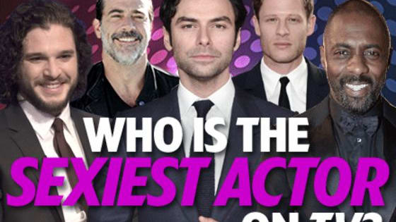 There are more handsome men than you can shake a stick at on TV right now, but who is the crown prince among the paupers? Cast your votes (you can vote for more than one star)