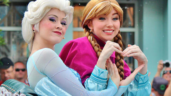 Yeah the classic princesses are pretty cool...but Elsa is cooler.