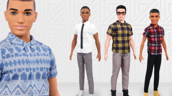 "Introducing the newest Kens to join Barbie's fab gang! Barbie's squad is looking less and less like an episode of super-white Madmen and more and more like you've walked into a hip coffee shop in Malibu! Mattel has released fifteen new Next Gen Ken dolls, which promotes diversity with three new body types and many different skin tones.   From the much-tweeted ""Man-Bun Ken"" to ""Best Buy's Geek Squad Chic"" Ken, here are the (totally unofficial) personalities and style inspirations behind Barbie's fifteen best"