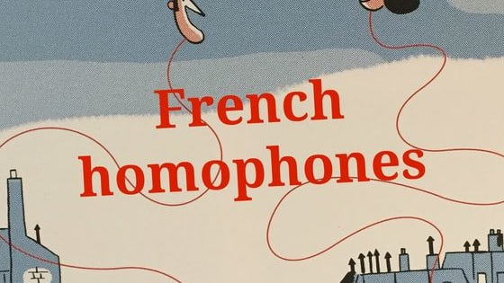 Same pronunciation, but not the same writing and meaning. Check your French vocabulary with this small quiz about French homophones
