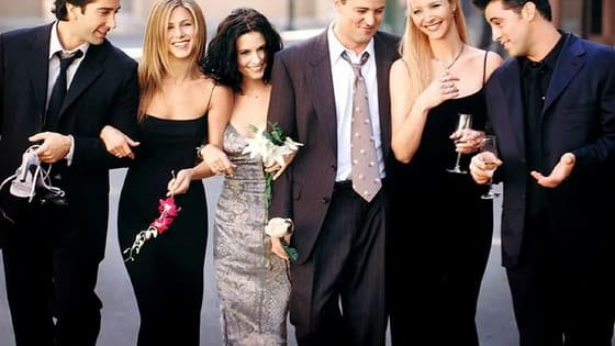 Monica Geller, Ross Geller, Rachel Green, Phoebe Buffay, Chandler Bing, Joey Tribbiani