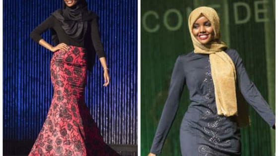 Halima Aden, a 19-year-old Somali-American woman, just made the top 15 in the Miss Minnesota pageant, all while wearing a hijab and a burkini, and you need to hear what she has to say!