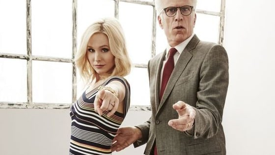 The Good Place has been a Great NBC show with Kristen Bell and Ted Danson!