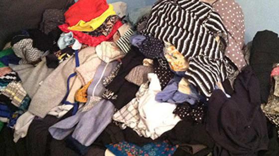 Laundry is hard. Folding is harder.
