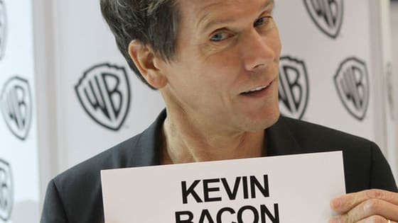 You know the old 6 degrees of Kevin Bacon concept.... Yup, Kevin Bacon has worked with pretty much everyone in Hollywood. Do you know which movies these actors and actresses starred in with the prolific performer?