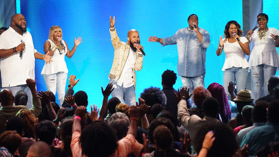 Which of these artists do you want to see take the stage on BET new gospel show Joyful Noise hosted by Tye Tribbett?