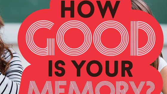 8 questions to test your memory!