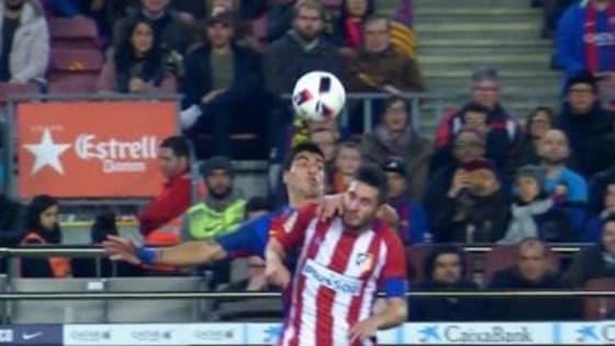 Should Luis Suarez have been sent off?
