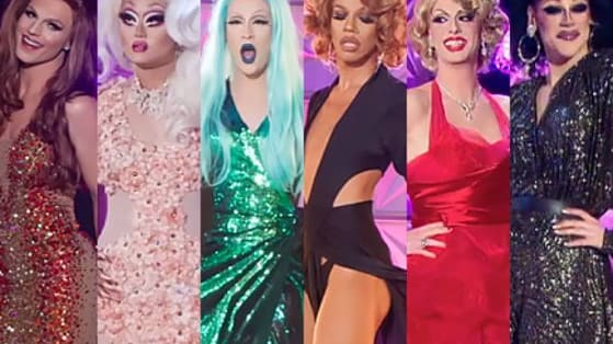 Toot and boot your favorite main stage 'Movie Premiere Eleganza' runway looks from RPDR Season 8 Episode 2: Bitch Perfect!