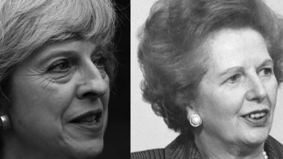 Can you tell Britain's two female Prime Ministers apart?