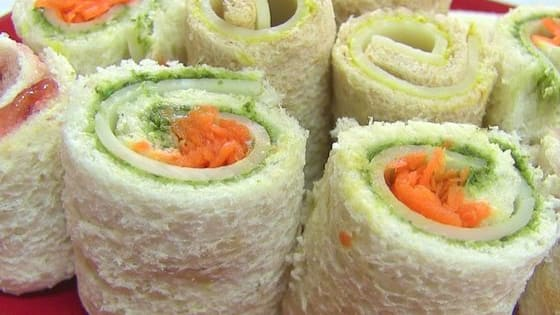 Like a sandwich in sushi form - You'll never eat samm'iches the same way again!