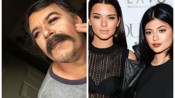Makeup Artist Gisela Villa convinced her father to let her give him a fabulous makeover, and the results would make even Kylie and Kendall jealous.