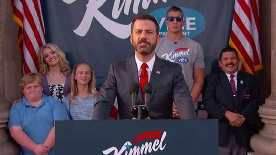 "According to Kimmel, ""You don't need a #1 to make a #2."" Would you vote for Jimmy Kimmel?"