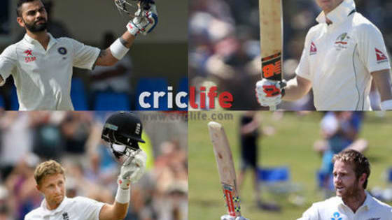 Let us know your choice for who is the current best Test batsman by giving your precious vote to one of the candidates mentioned below.