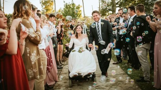 Anna Claire Waldrop lost mobility in a car accident with a drunk driver, but now she says planning her wedding has pushed her to recover as quickly as possible and given her purpose. Find out more about this amazing story here.