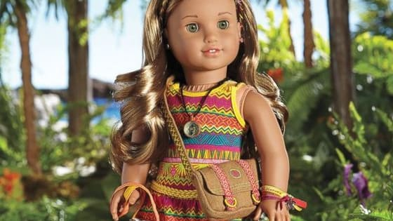 You can find out what you should name your American Girl Doll.