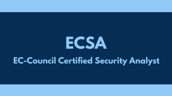 Start your Preparation for EC-Council ECSA and become EC-Council Security Analyst certified with edusum.com. Here you get online practice tests prepared and approved by EC-Council certified experts based on their own certification exam experience. Here, you also get detailed and regularly updated syllabus for EC-Council ECSA.
